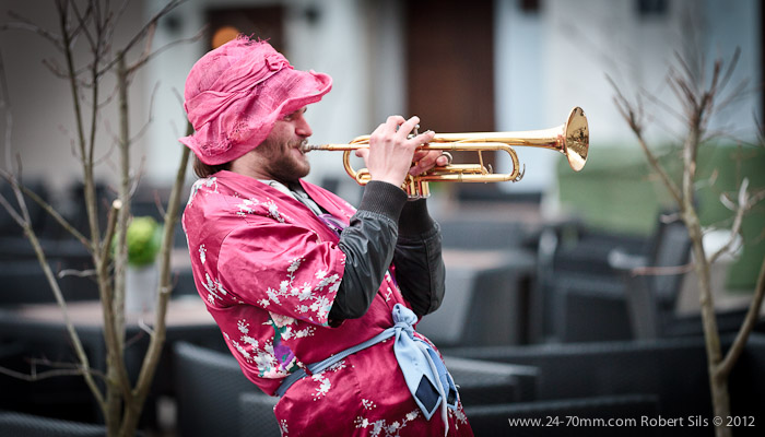 The Babushka Brass Quartet or Pielietais Munstuks @ Old Riga 2012